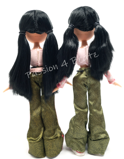 First Edition Jade Detailed and Undetailed Hairstyles