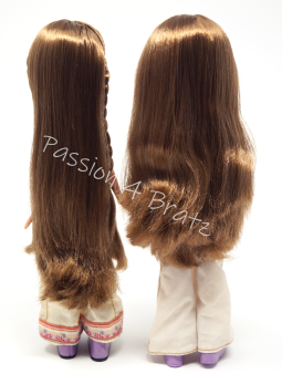 First Edition Yasmin Detailed and Undetailed Hairstyle