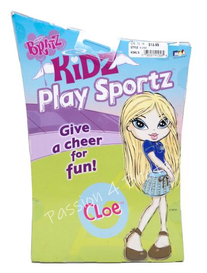 Kidz Play Sportz Cloe Back of Box