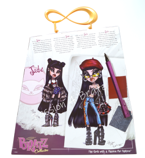 Bratz Collector Jade Back of Box
