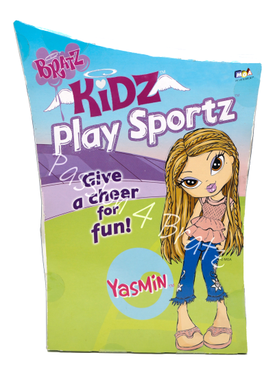 Kidz Play Sportz Yasmin Back of Box