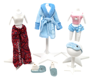 Slumber Party Wave 1 Cloe Clothes and Shoes