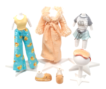 Slumber Party Wave 1 Sasha Clothes and Shoes
