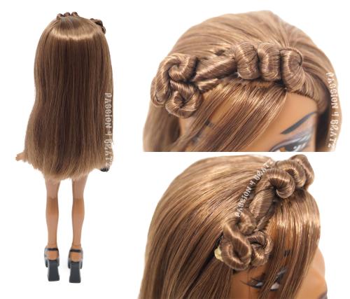 Funk 'N' Glow Wave 1 Sasha Hairstyle