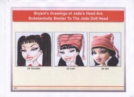 Original Carter Bryant Jade Drawings