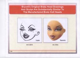 Original Carter Bryant Head Drawing