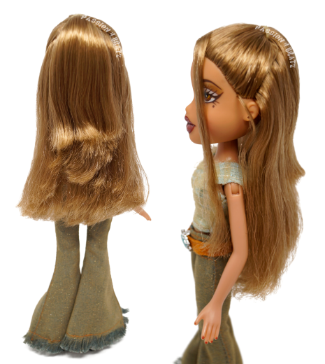 Funk 'N' Glow Wave 1 Yasmin Hairstyle
