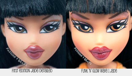 First Edition Jade vs. Funk 'N' Glow Wave 1 Jade