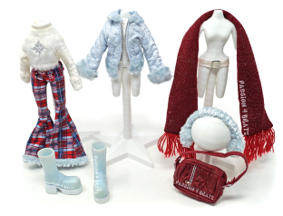 Wintertime Wonderland Wave 1 Jade Second Outfit Clothes, Shoes, and Accessories