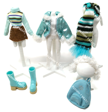 Wintertime Wonderland Wave 1 Sasha Second Outfit Clothes, Shoes, and Accessories
