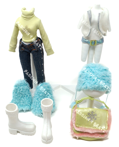 Wintertime Wonderland Wave 1 Sasha First Outfit Clothes, Shoes, and Accessories