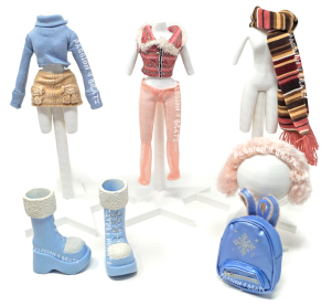 Wintertime Wonderland Wave 1 Yasmin Second Outfit Clothes, Shoes, and Accessories
