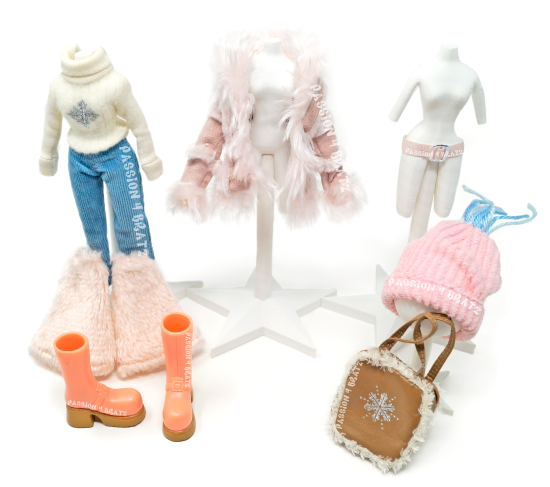 Wintertime Wonderland Wave 1Yasmin First Outfit Clothes, Shoes, and Accessories