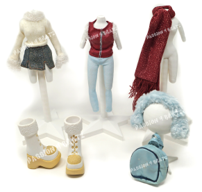 Wintertime Wonderland Wave 1 Cloe Second Outfit Clothes, Shoes, and Accessories
