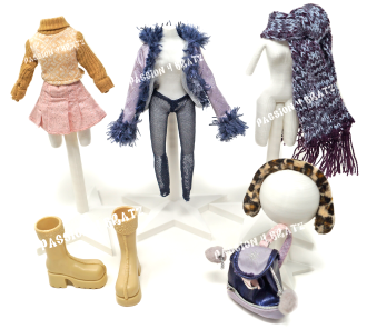 Wintertime Wonderland Wave 1 Dana Second Outfit Clothes, Shoes, and Accessories
