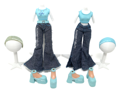 First Edition Detailed and Undetailed Cloe First Outfit Clothes and Shoes