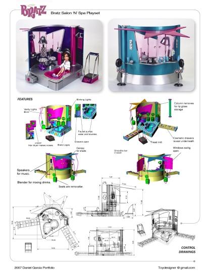 2002 Stylin' Salon 'N' Spa Concept by Daniel Garcia