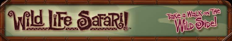 Wild Life Safari Banner