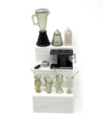 2002 Stylin' Salon 'N' Spa Accessories