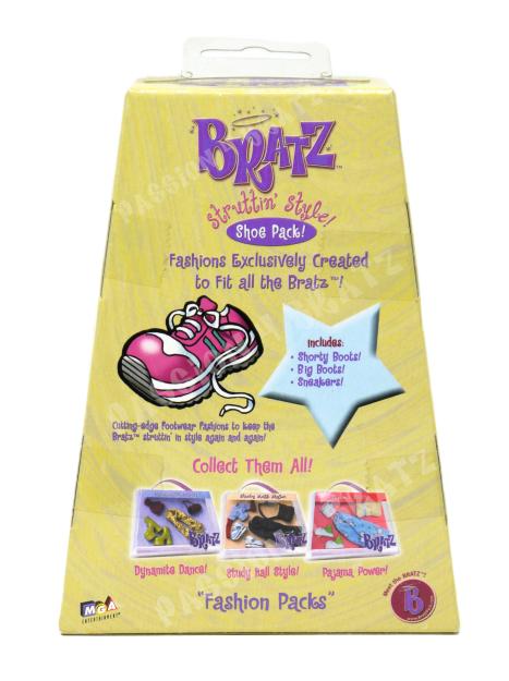 2002 Struttin' Style Shoe Pack Back of Box