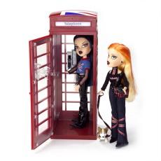 Pretty 'N' Punk Phone Booth Stock Photo