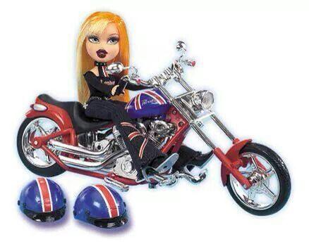 Pretty 'N' Punk Motorbike Stock Photo